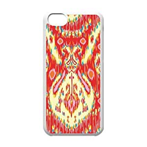 Kasbah Persimmon iPhone 5c Cell Phone Case White Delicate gift AVS_532543