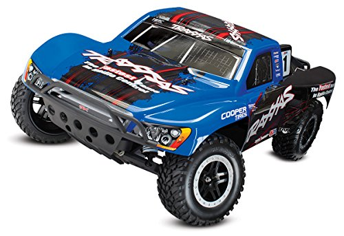 Traxxas 58076-1 Slash VXL: 2WD Electric Short Course Truck, Ready-To-Race (1/10 Scale), Colors May Vary