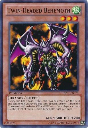 Yu-Gi-Oh! - Twin-Headed Behemoth (BP01-EN179) - Battle Pack ...