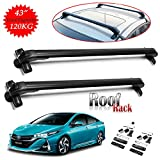 SIKY for Toyota Corolla/Prius / RAV4 Car Roof Rack Cross Bar 43'' Lockable Aluminum Anti Theft Top Cargo Luggage Carrier Cross Bar Adjustable - 1 Pair