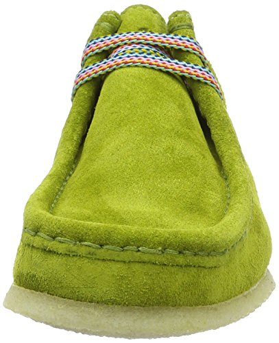 Sioux Grashopper D-141, Mocasines para Mujer Verde (Kiwi)