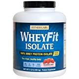 Fitness Labs WheyFit Isolate – 100% Whey Protein Isolate (5 Pounds, Strawberry Swirl) Review