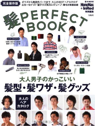 髪 PERFECT BOOK 2013年号 大きい表紙画像