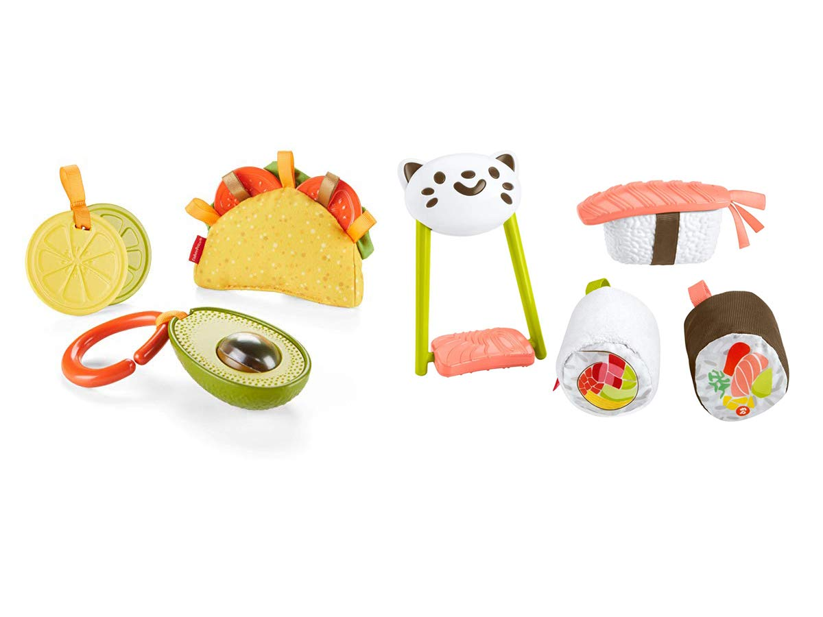 Fisher-Price Taco Tuesday and Rice 'n Roll Sushi Gift Set, Toddler, Baby by Fisher-Price