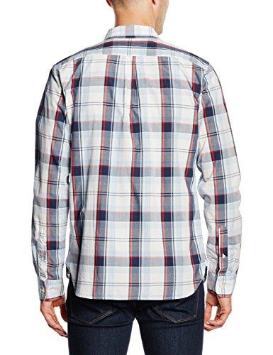 Levi's Plaid Shirt 1 c32383 Casual 273 Uomo Cashmere Camicia pd162216 Mt Multicolore Ceylon Sunset Pocket Blue SxSwqpr
