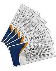 5 Pack Marijuana Test Kit THC Test Strips Drug Test Urine Test 3.0mm