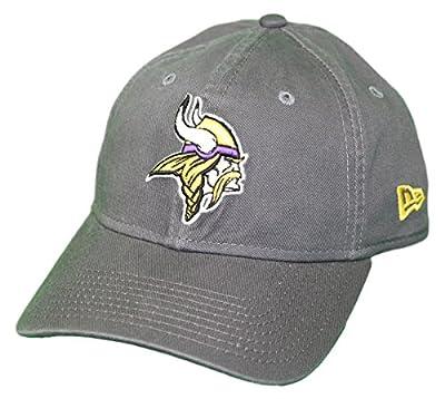 New Era Minnesota Vikings NFL 9Twenty Core Classic Graphite Adjustable Hat from New Era