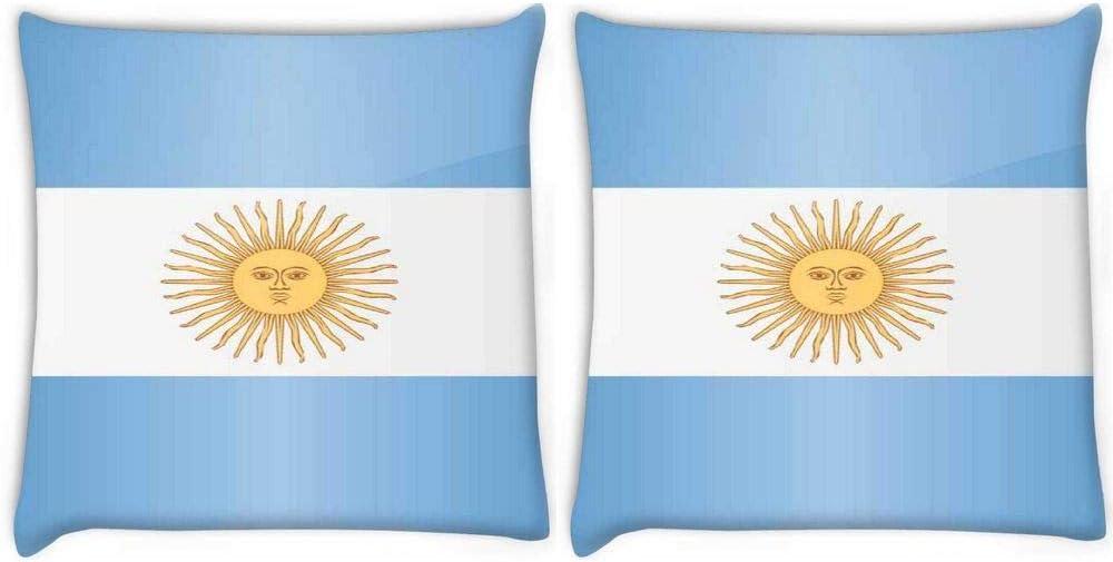 Funda de cojín con estampado de cebra roja 2980 con la bandera de España de 16 pulgadas: Amazon.es: Oficina y papelería