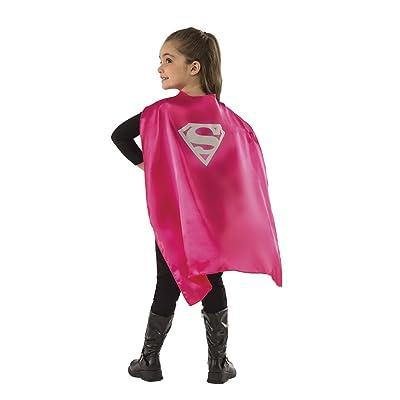 Rubies - Capa de disfraz Supergirl para niños, Talla única infantil (Rubie's 36799): Juguetes y juegos