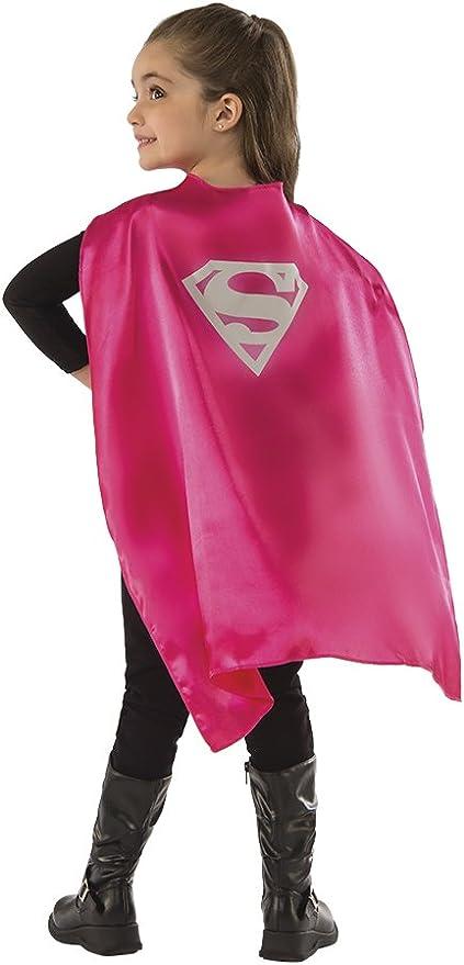 Rubies - Capa de disfraz Supergirl para niños, Talla única ...
