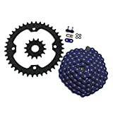 06-2009 Yamaha YFM700 700 Raptor Blue O-Ring Chain & Black Sprocket 15/40 102L