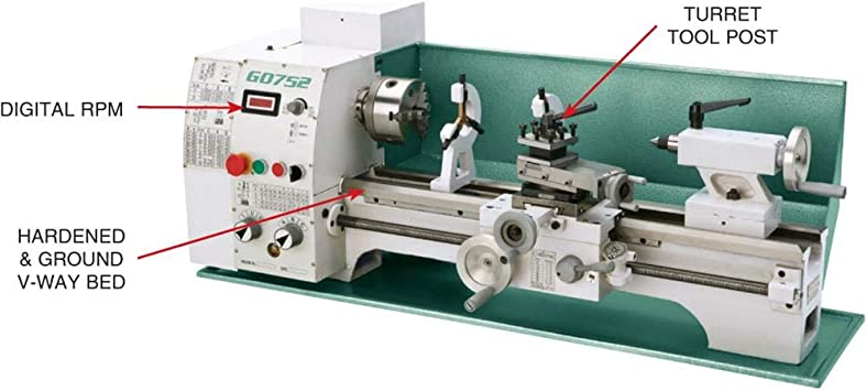 Grizzly G0752 Metal Lathe product image 2
