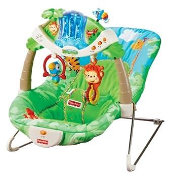 82f00f53f3f Fisher-Price Rainforest Bouncer: Amazon.co.uk: Baby