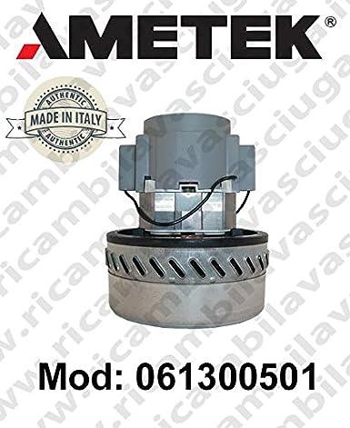 Motor aspiración 061300501 ametek Italia para mopa y aspiradora: Amazon.es: Industria, empresas y ciencia
