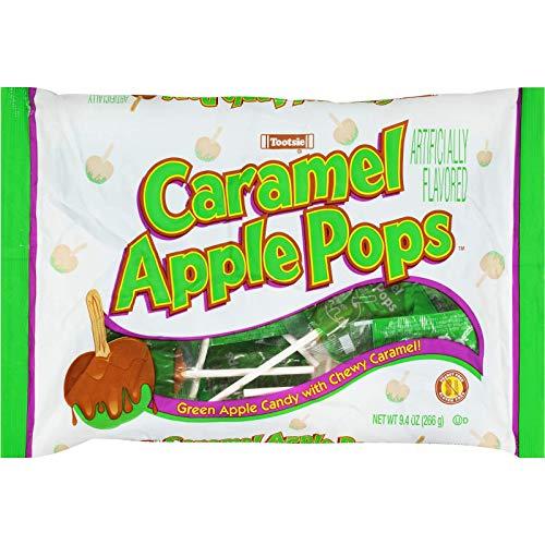 Tootsie Caramel Apple Pops, 9.4 oz Gluten Free Peanut Free
