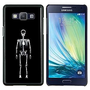 EJOOY---Cubierta de la caja de protección para la piel dura ** Samsung Galaxy A5 A5000 ** --Capa esqueleto cráneo Ray X