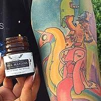 Linimento Piel Rayada 50 gr / 1.76 oz - Friega Sólida - Cuidado Post Tatuaje - Aceites y Mantecas Vegetales - Hidratación - Cuidado de la Piel - Herbolaria Tradicional Mexicana - Preparado Herbal de Uso Externo - Bienestar Natural - Producto Vegano - Regalo vegano