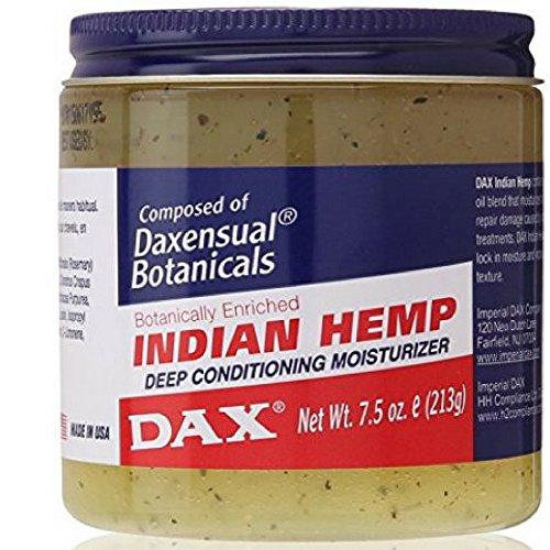 Dax Jamborandi Plus Indian Hemp Deep Conditioning Moisturizer 7.50 oz ( Pack of 6)