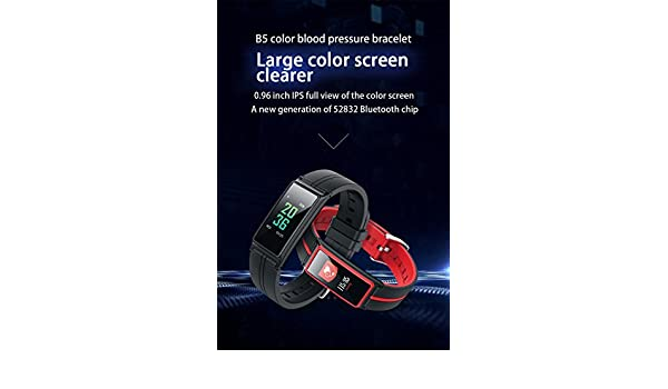 Amazon.com: BOND Bluetooth Smart Band Heart Rate Monitor Color Touch Screen Wristband Bracelet Fitness Tracker Pedometor Pulseria Inteligente For IPhone IOS ...