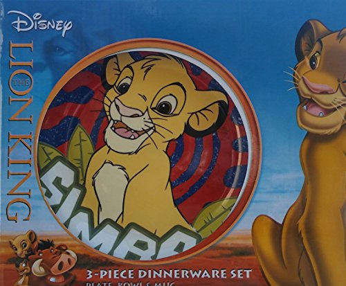 Disney The Lion King 3-Piece Porcelain Dinnerware Set Plate Bowl u0026 Mug. - Buy Online in Oman. | disney Products in Oman - See Prices Reviews and Free ...  sc 1 st  Desertcart Oman & Disney The Lion King 3-Piece Porcelain Dinnerware Set Plate Bowl ...