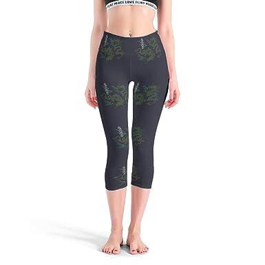 Lijian-Leggings Mallas de Yoga para Adolescentes, elásticas ...