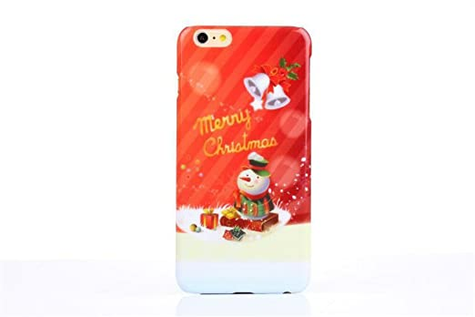 Amazon.com: For Iphone 6 Plus Case,holiday Series Christmas Iphone ...