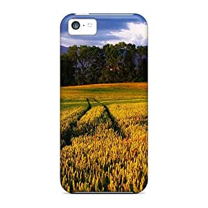 Cute High Quality Iphone 5c Golden Wheat In Alpine Valley Case