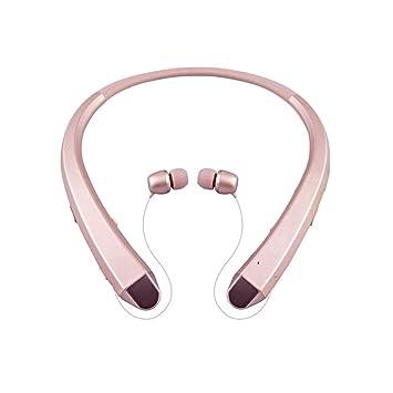 Auriculares Bluetooth portátiles Deporte estéreo Auriculares inalámbricos Moda Cuello Colgando Auricular para teléfono Inteligente HBS910: Amazon.es: ...