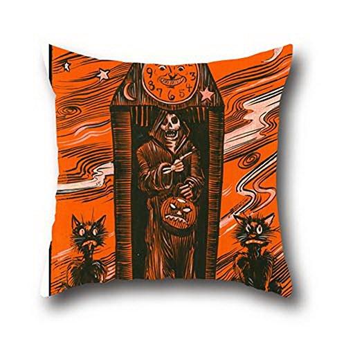 Goling Bbay Oil Painting Black Cats Halloween Cushion Cover Pillow With Hidden Zipper ( 20*20 (Halloween Parties Richmond Va)