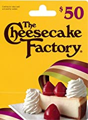 The Cheesecake Factory offers more than 200 menu selections including steaks, pastas, specialty salads, pizzas and fresh fish. Don't forget to save room for one of their more than 50 decadent cheesecakes and desserts.