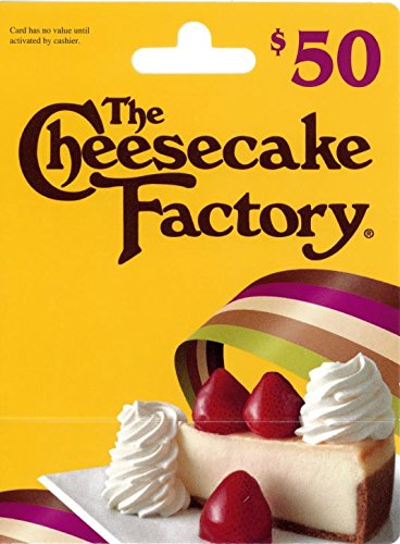 (The Cheesecake Factory Gift Card $50)