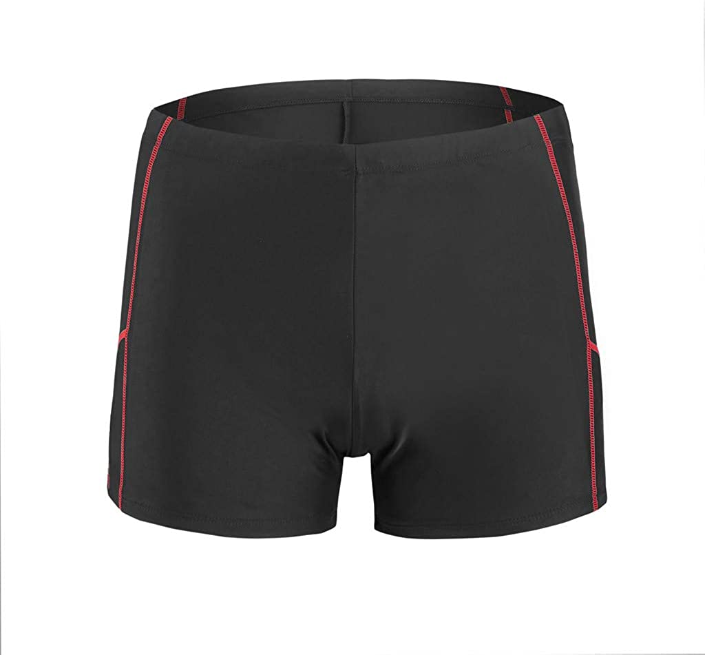 Mens Swim Trunks Summer Breathable Quick Dry Swimwear Beach Surfing Running Swimming Short Pants