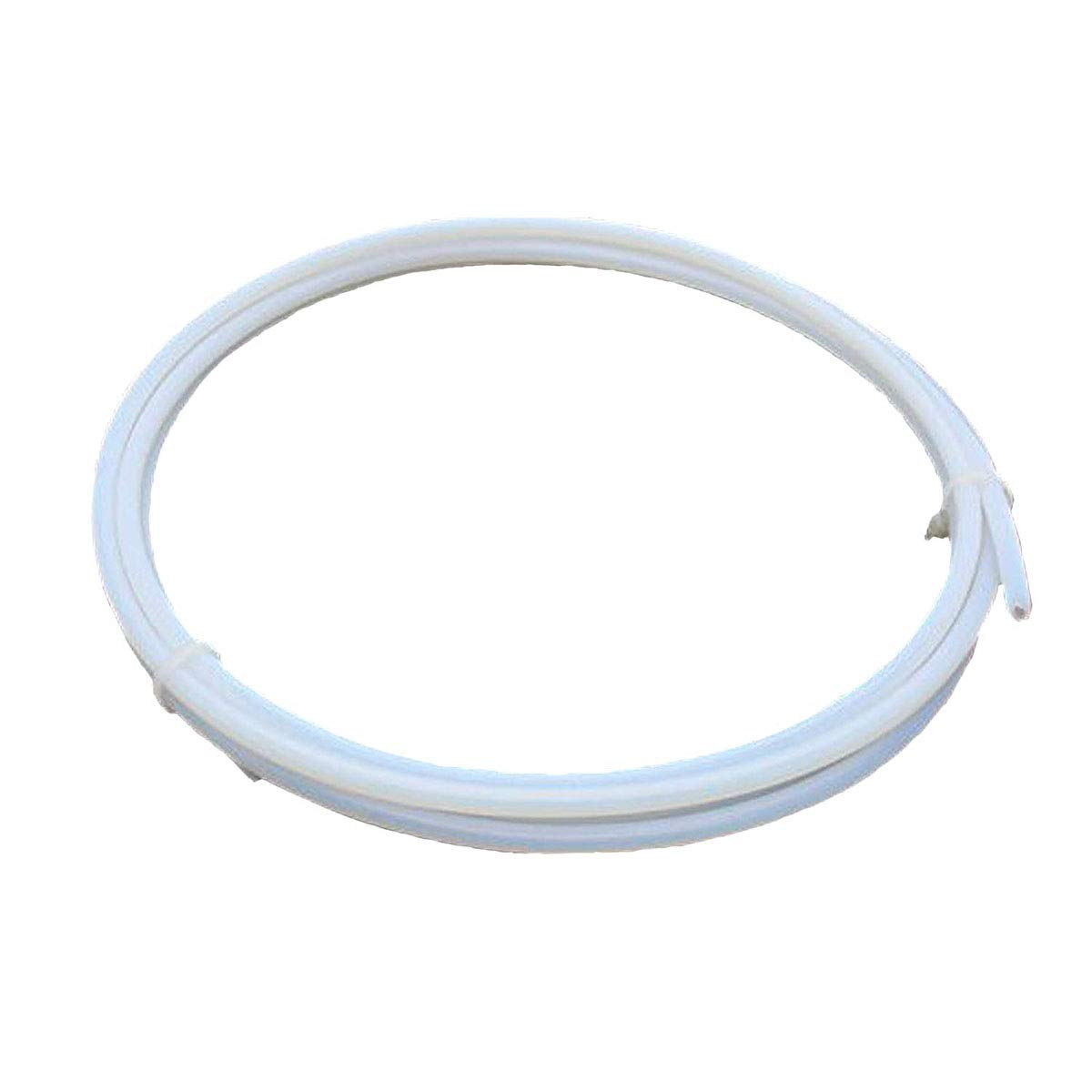 Samje 2m PTFE Teflon Bowden Tube (4.0mm OD/2.0mm ID)1.75mm Filament for 3D Printer Makerbot RepRap Rostock Kossel