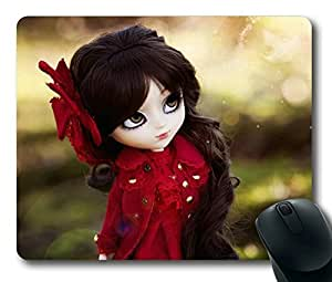 Cute Toy Girl Easter Thanksgiving Personlized Masterpiece Limited Design Oblong Mouse Pad by Cases & Mousepads by runtopwell