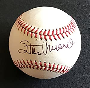 Stan Musial Signed Autographed Official National League (ONL) Baseball - COA Matching Holograms