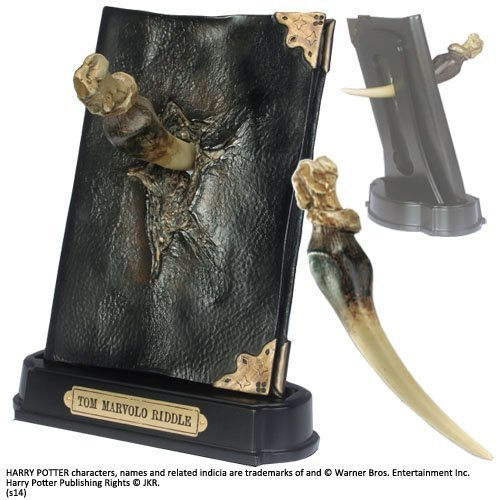 Harry Potter: Basilisk Fang and Tom Riddle Diary Sculpture