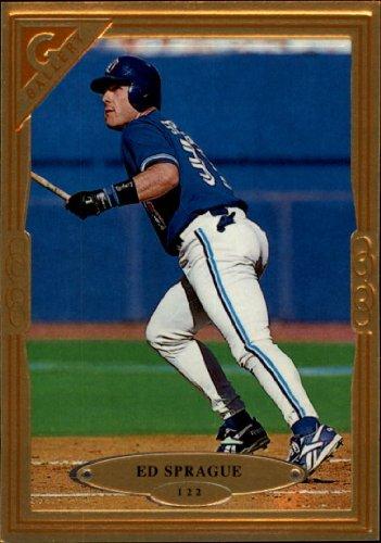 1997 Topps Gallery Baseball Card #122 Ed Sprague ()