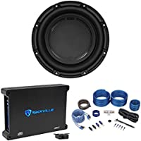"Polk Audio DB1042DVC 10"" 1050 Watt Car Audio Subwoofer+Mono Amplifier+Amp Kit"