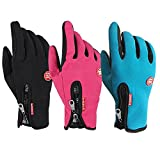 Forfar Winter Ski Winter Warm Gloves Waterproof Driving Gloves Motorcycle Bicycle Touch Outdoor Unisex Driving Gloves To