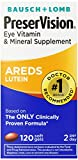 Best Vision Supplements - PreserVision AREDS Lutein Eye Vitamin & Mineral Supplement Review