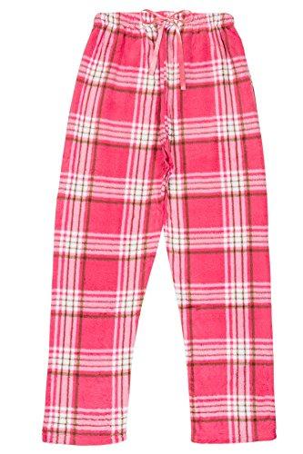 North 15 Womens Super Cozy Minky Fleece Pajama Bottom Lounge Pants (S - 4XL)