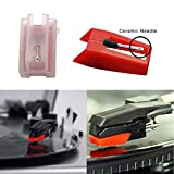banpa Pack of 2 Turntable Replacement Needle with