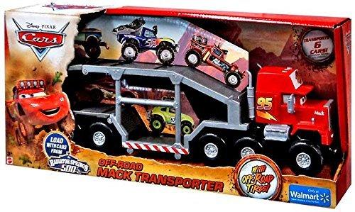 Disney / Pixar CARS The Radiator Springs 500 1/2 Off-Road Mack Transporter New