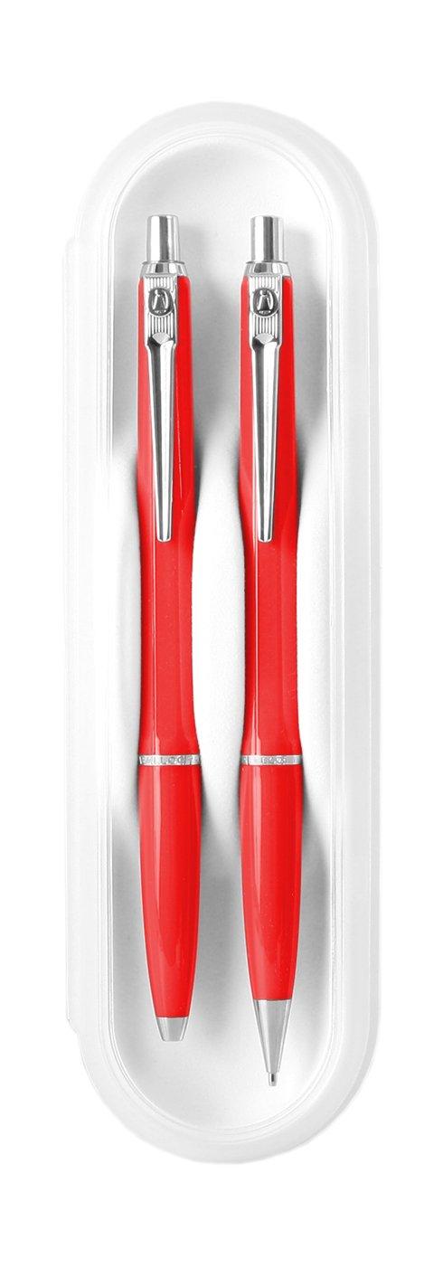 ballograf 89326Ball Point Pen & Mechanical Pencil Red