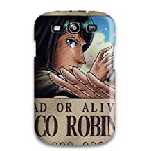Defender Case For Galaxy S3, Nico Robin Wanted Poster Pattern