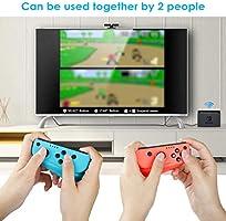 Mandos para Nintendo Switch,Timoom Bluetooth Wireless Controller Gamepad Joystick Controlador De Reemplazo Izquierdo Y Derecho para Joy Con: Amazon.es: Electrónica