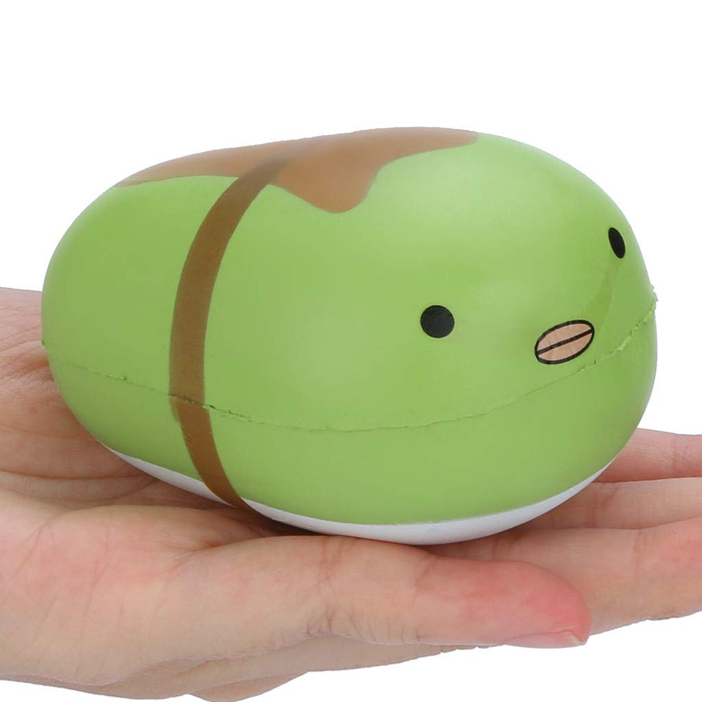 Amazon.com: Ktyssp Cute Pea Box Scented Slow Rising ...