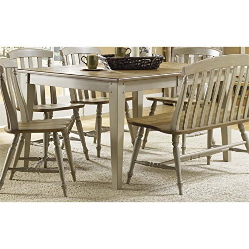 rustic extension table - 5