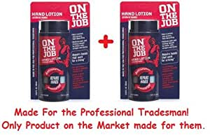 On the Job- Hand Lotion - Hand Lotion (Repairs Hands That Work for a Living)- 2 Pack