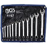 Bgs Technic Pro+ Din 3113A - Set Di Chiavi Combinate, 6-22 Mm, Confezione Da 12